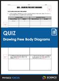 Quiz - Drawing Free Body Diagrams
