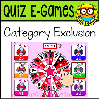 Quiz-E Game: Category Exclusion {Interactive Computer-based Game}