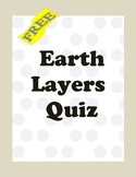 Earth Layers Quiz