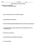 Quiz - Edith Hamilton's Mythology - Chapters Two and Three