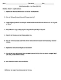 Quiz - Edith Hamilton's Mythology - Part III (pgs 195-251)