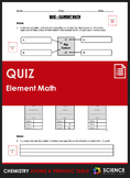 Quiz - Element Math: Calculating Number of Protons, Neutrons & Electrons