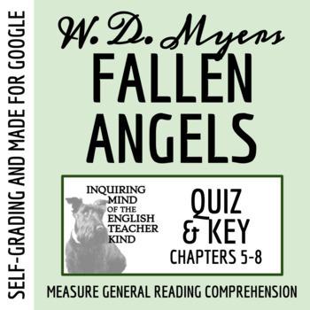Fallen Angels by Walter Dean Myers - Quiz (pg. 97-204)
