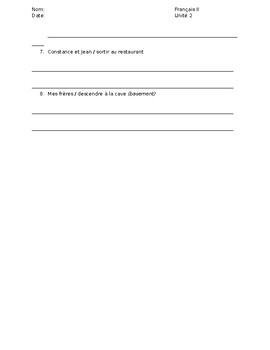Quiz: Formation of the passé composé with être