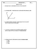 Quiz: Foundations of Geometry PDF