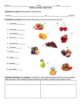 Quiz: Fruta
