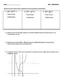 Quiz - Function Transformations