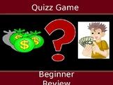 Quiz Game Beginner Review
