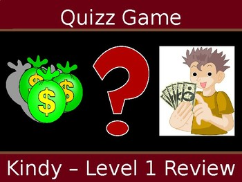 Quiz Game Gr1-2 Review