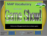 MAP TEST READING VOCABULARY GAME - Game Show (RIT BANDS 141-170)
