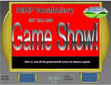 MAP TEST READING VOCABULARY GAME - Game Show (RIT BANDS 191-200)