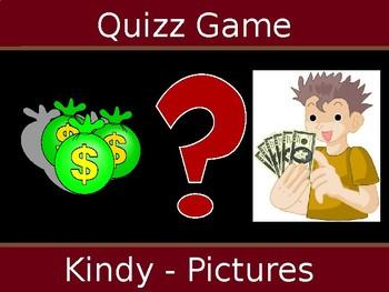 Quiz Game Kindy Vocab Review