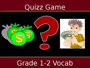 Quiz Game Vocab review