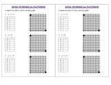 Graphing Patterns Using Tables