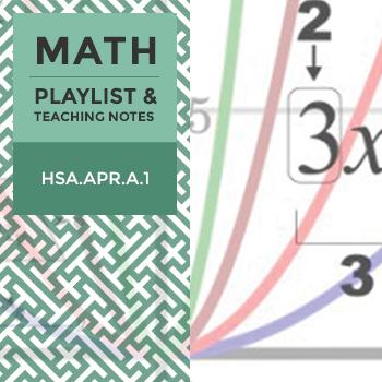 Quiz: HSA.APR.A.1