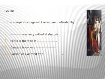 Quiz-Julius Caesar