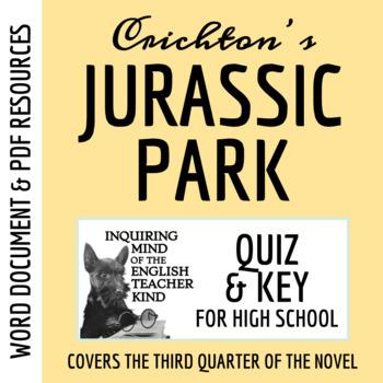 Jurassic Park Quiz (pg. 197-298) - Michael Crichton