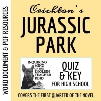 Jurassic Park Quiz (pg. 1-94) - Michael Crichton