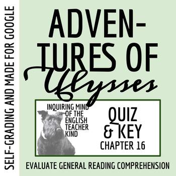 Adventures of Ulysses Quiz (The Return)