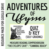 Adventures of Ulysses Quiz (The Cyclops' Cave - Cannibal Beach)