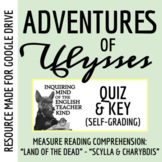 Adventures of Ulysses Quiz (Land of the Dead - Scylla & Charybdis)