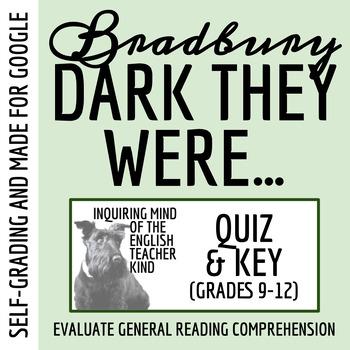 """Dark They Were and Golden-Eyed"" by Ray Bradbury - Quiz"