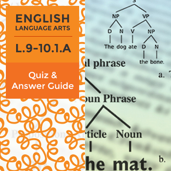 L.9-10.1.A - Quiz and Answer Guide