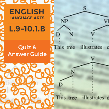 L.9-10.1.B - Quiz and Answer Guide