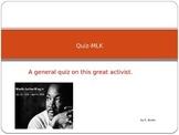 Quiz--MLK
