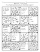 Quiz Mazes- Engage New York/CKLA 1st Grade Quarter 2 (Modules 4, 5, and 6)