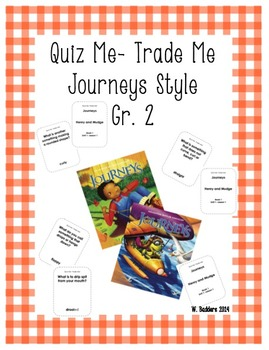 Quiz Me- Trade Me Journeys Style Gr. 2