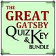 High School Literature - Common Novels Quiz Bundle