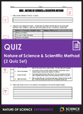 Quiz - Nature of Science, Scientific Method, Experimental
