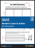 Quiz - Newton's Laws of Motion in Action (Part 1)