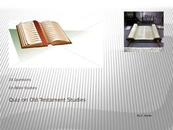 Quiz-On Old Testament Studies