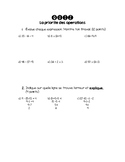 Quiz - Order of Operations (French)