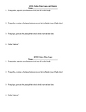 Quiz: Pathos, Ethos, Logos, and Rhetoric