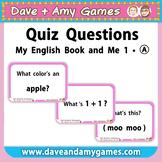Quiz Questions: Kindergarten