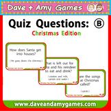 Christmas Quiz (B)
