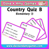 Country Quiz: B