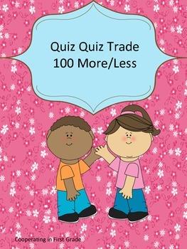 Quiz Quiz Trade 100 More or Less