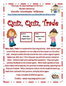 Quiz Quiz Trade