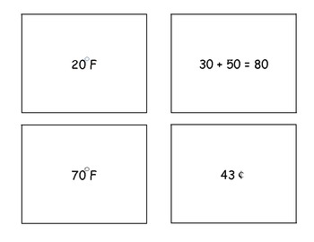 Quiz Quiz Trade 2nd Grade Math