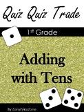 Quiz Quiz Trade: Addition with Tens 0 - 100