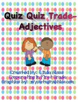 Quiz Quiz Trade - Adjectives in Sentences