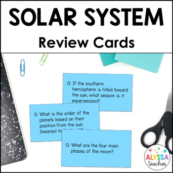 Astronomy Flash Cards