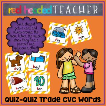 Quiz Quiz Trade CVC Words