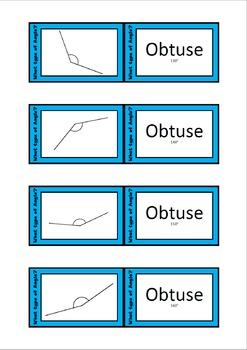 Quiz Quiz Trade Cards - Angles