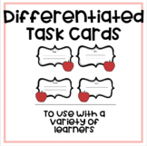 Differentiated Ask Ask Switch Activity Cards to Use With T