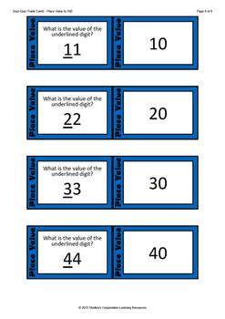 Quiz Quiz Trade Cards - Place Value Bundle
